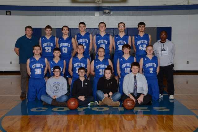 Picture of 2017-2018 Varsity Boys Basketball Team