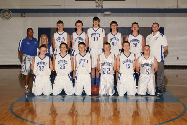 Picture of 2015-2016 JV & C Boys Basketball Team