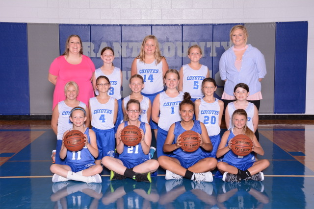 Picture of 2016-2017 Elementary Girls Basketball Team