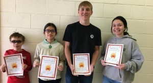 STAR students for the month of March