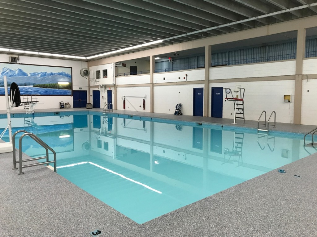 picture of different angle of swimming pool from the south end