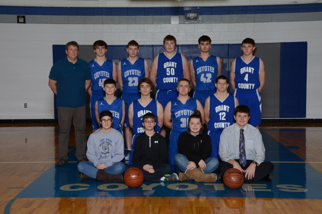 Picture of 2017-2018 JV Boys Basketball Team